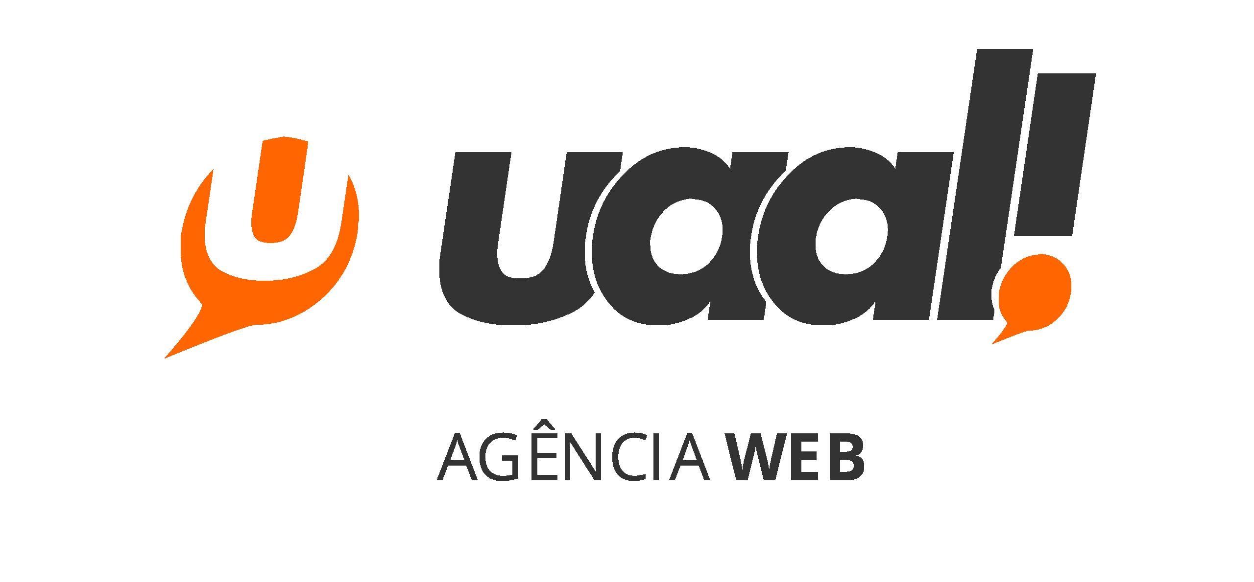 Logo uaal! agência web e criação de sites